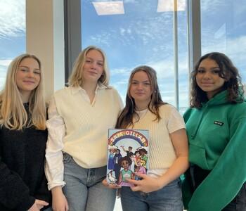 TBS-elever prisas som Årets socialt hållbara UF-företag i Skåne