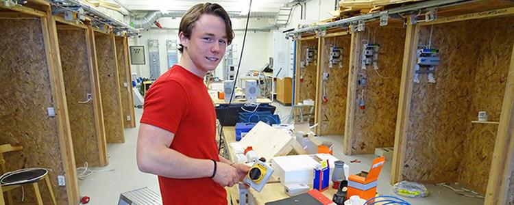 El-elever i jobb innan studenten - Åva Gymnasium